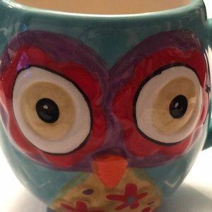 Natural life Owl Mug Teal